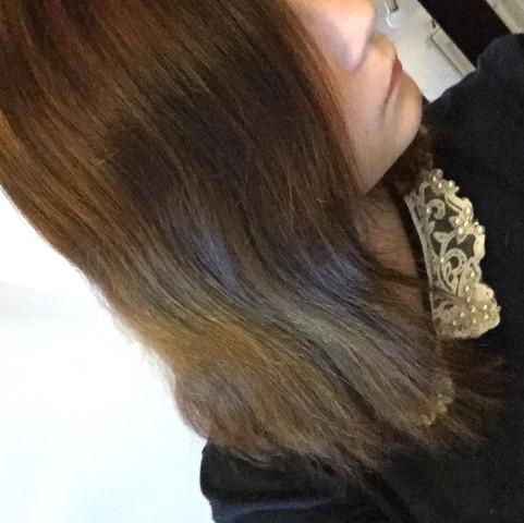 1. Bild (aktuell) - (Haare, blondieren)