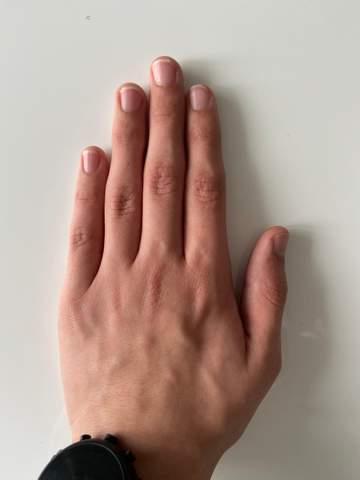 Sind meine Hände eher groß oder klein?