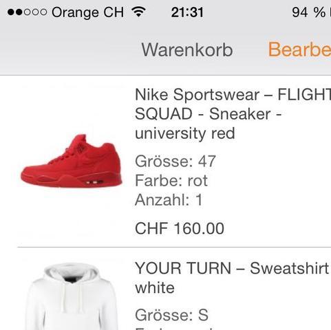 Die Schuhe nicht der Pulli ^^ Und jaa ich komme aus der Schweiz :D - (Schuhe, Nike, Zalando)