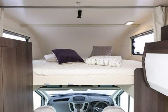 Sind Wohnmobile mit Bett über dem Fahrerhaus gemütlich bzw wie schläft ihr drin und findet es?