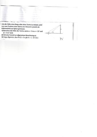 mathebsp - (sinussatz, dreiecksberechnung, Gleichung umformen)
