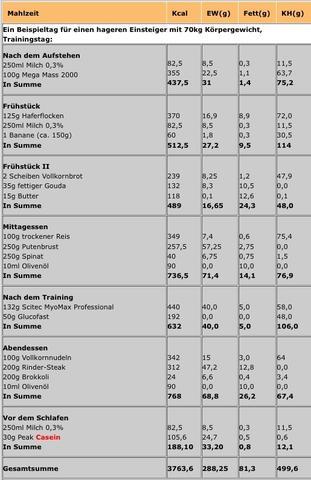 ernhrungsplan an einem trainingstag fitness ernhrungsplan - Ernahrungsplan Muskelaufbau Beispiel