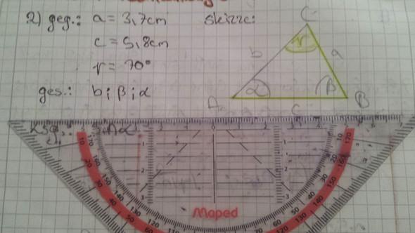 - (Mathematik, Gleichungen, Trigonometrie)
