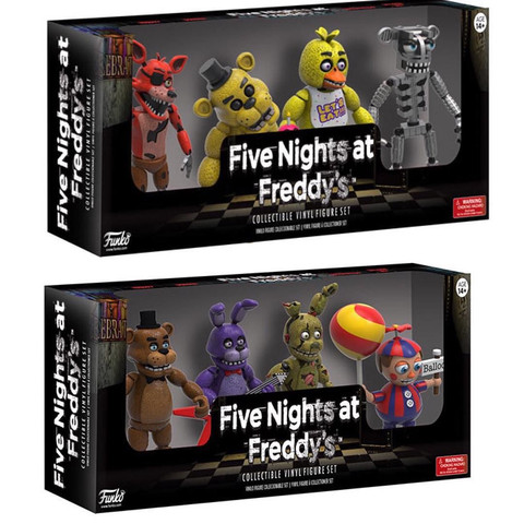 Set 1 + 2 - (Spielzeug, Five-Nights-At-Freddys)