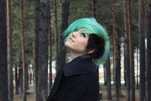 sidecut ? - (Haare, färben, Emo)