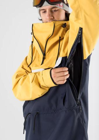 Skijacke - Wofür Taschen unter den Armen....?
