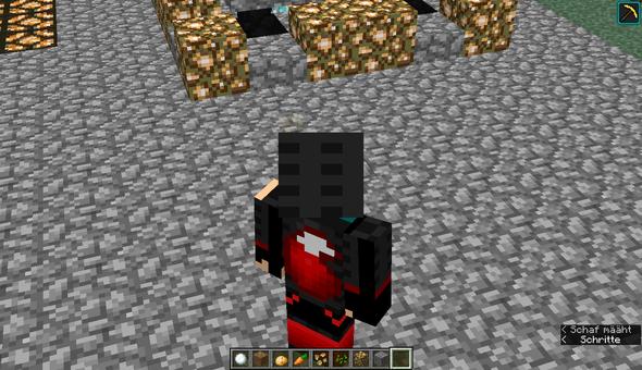 Skin Ist Fehlerhaft Hat Schwarze Streifen In Minecraft Wen Man Das - Minecraft spielerkopfe 1 8