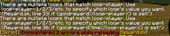 Error - (Minecraft, Server, programmieren)