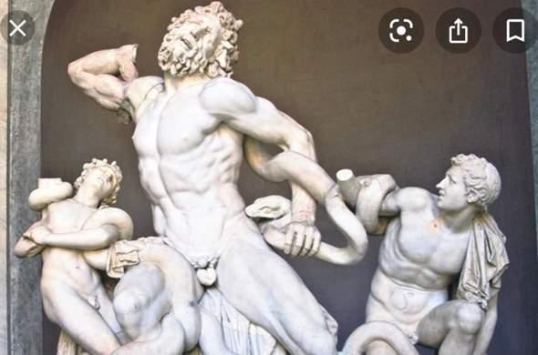 "Skulptur ""Laokoon Gruppe""?"