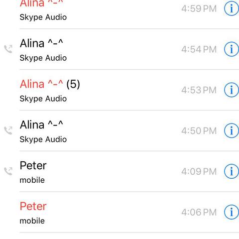 skype anrufe - (Handy, iPhone, Apple)