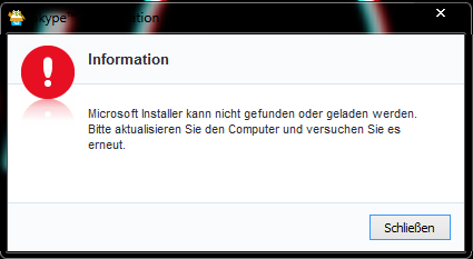 FehlerMeldung - (PC, Windows 7, Microsoft)