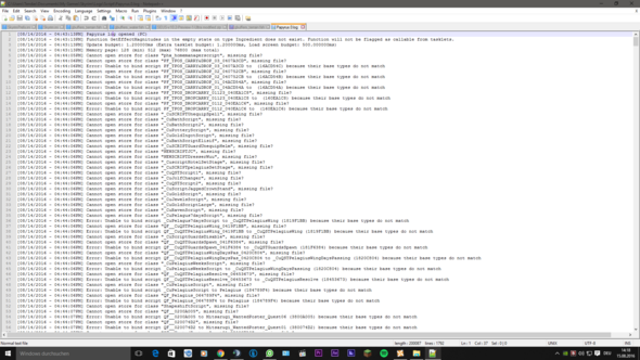 Screenshot 1 Crash Log - (Technik, Games, skyrim)