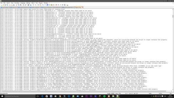 Screenshot 3 Crash Log - (Technik, Games, skyrim)