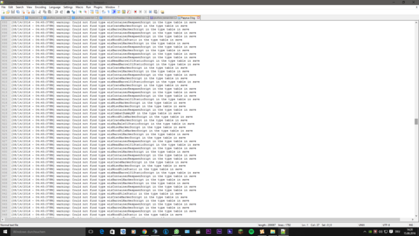 Screenshot 7 Crash Log - (Technik, Games, skyrim)
