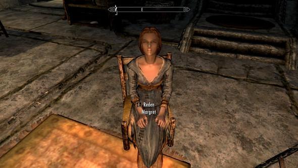 Bild 1: NPC Frau mit braunem Gesicht - (Computer, Games, skyrim)