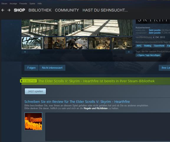 Wollte es kaufen aber.... - (Games, Steam, skyrim)