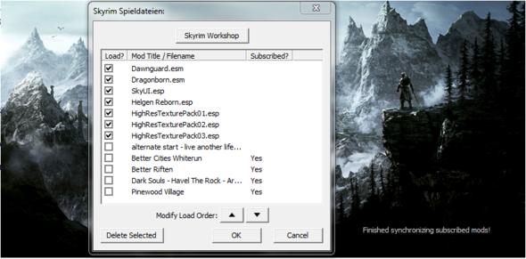 Datendateien Skyrim (Heartfire fehlt) - (Spiele, Steam, Skyrim)