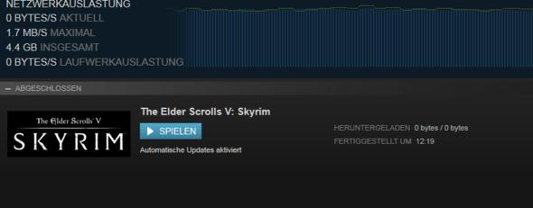 0 Byte Download von Hearthfire - (Spiele, Steam, Skyrim)