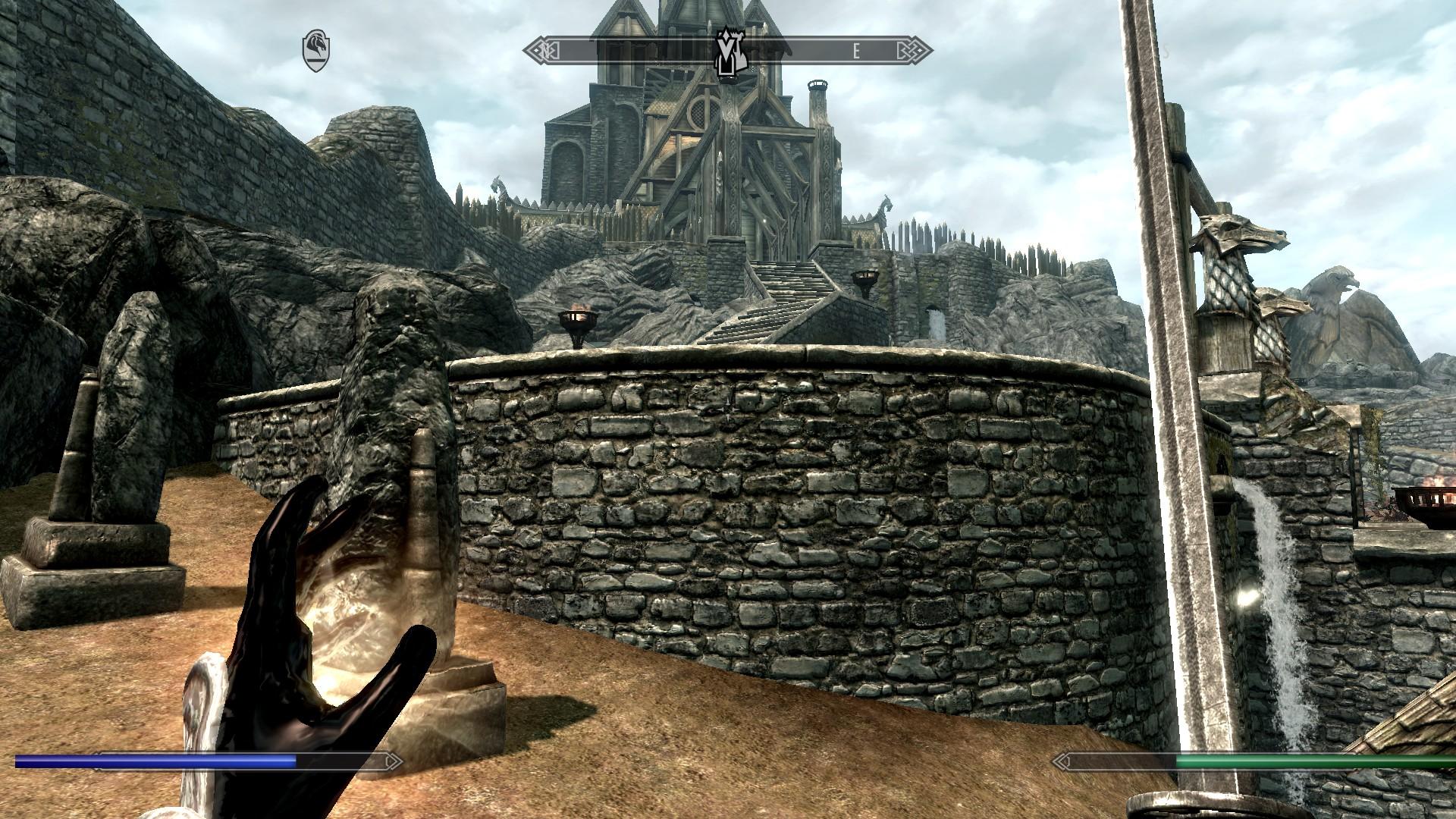 Skyrim Hud Probleme (PC, Spiele, Bug)