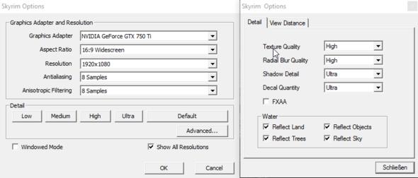 Grafikeinstellungen - (PC, Grafikkarte, PC-Spiele)