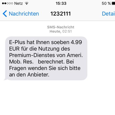 Sms der 2. nummer - (iPhone, Android, Abo)