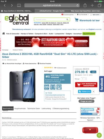 Angebot - (Internet, Technik, Smartphone)