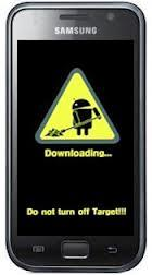 Aber ohne taget turn off steht bei mir - (Android, Download)