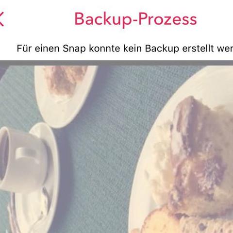 Wenn ich unten dann auf wiederholen Tippe funktioniert es nicht  - (Snapchat, social-media)