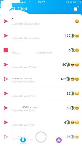 Snapchat zuletzt online ausschalten