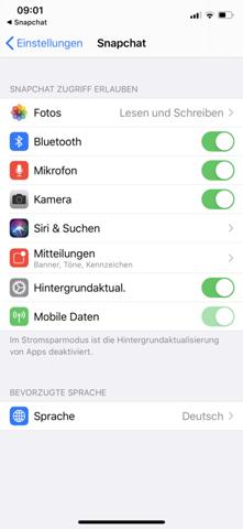 Snapchat Filter, Standort, Uhrzeit aktivieren?
