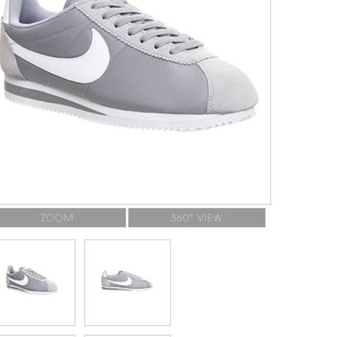 Das  sind die gesuchten Schuhe  - (Nike, grau, classic)
