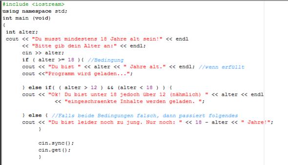 Der Sourcecode - (programmieren, Informatik, Programmierung)