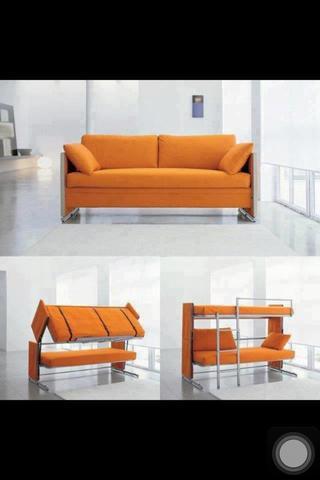 Sofa Wird Zu Hochbett   (Sofa, Umbauen, Hochbett)