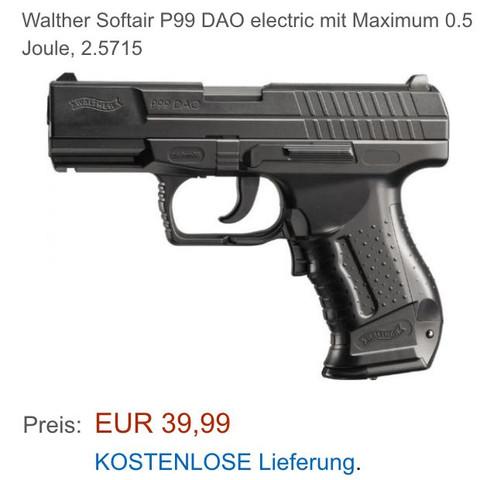 P99 aeg - (Softair, Airsoft, Joule)