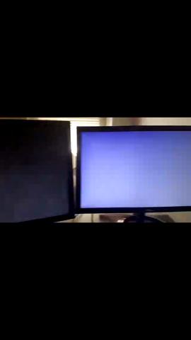 So sieht es aus bei einem Absturz hatte aber auch schonmal weiß und Orange als F - (Computer, Technik, Technologie)