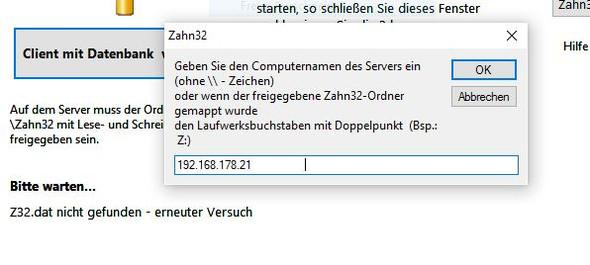 Alter Server 1 Ipadresse - (PC, Software)