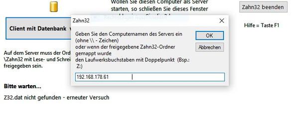 Neuer Server 1 Ipadresse - (PC, Software)