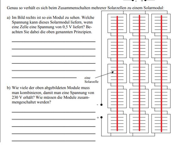 Solarmodul Parallel- oder Reihenschaltung?