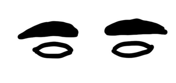 Solche Augenbrauen zupfen oder lassen?