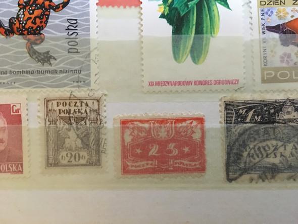 2te - (Briefmarken, Postgeschichte)