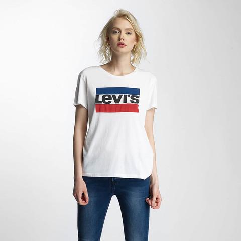 Soll das Levis Tshirt in blau weiß rot eine Flagge darstellen?