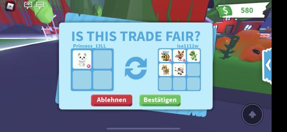Soll ich den Trade machen?