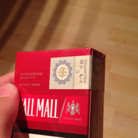 Llcdhj - (Zigaretten, Schachtel, Pall Mall)