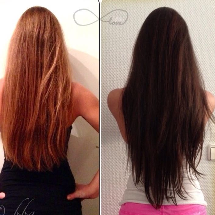 Stufen schneiden langes haar