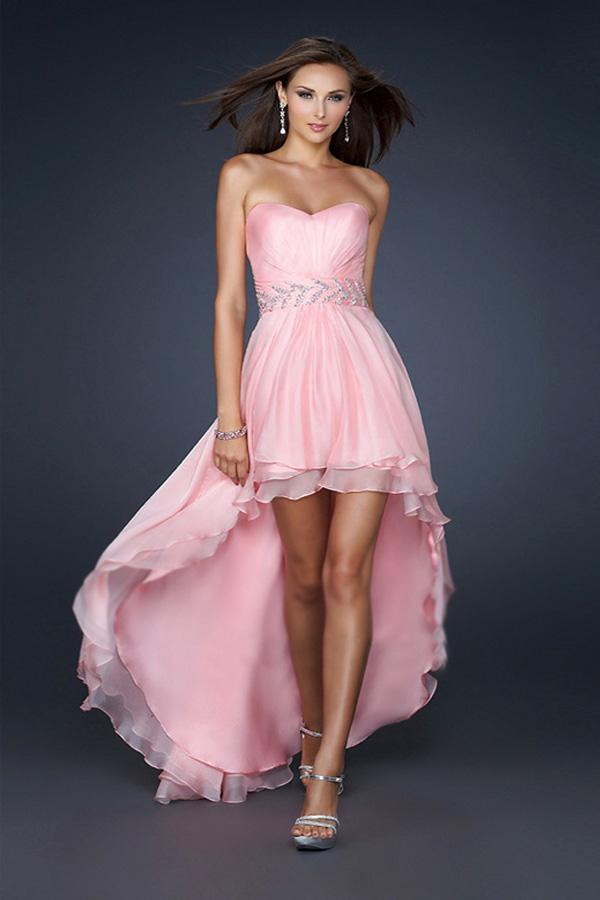 Pinkes ballkleid kurz - Stylische Kleider für jeden tag