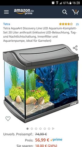 Soll ich mir für dieses Aquarium eine Unterlage holen?