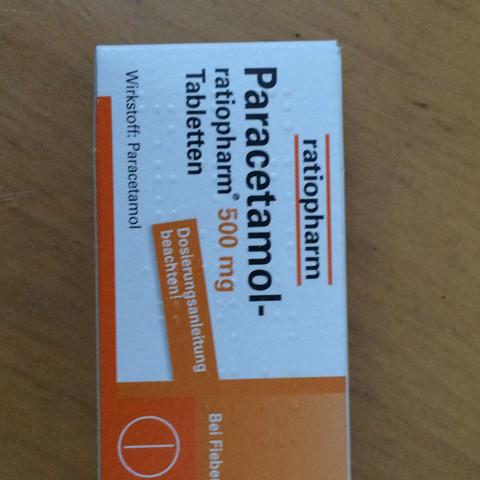 Das sind die Tabletten die ich heute morgen genommen habe. - (Schmerzen, Frauen, Periode)