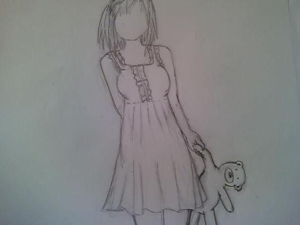 Kleid - (Kleid, malen)