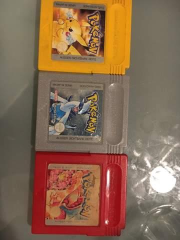 Sollte ich 3 Pokémon Gameboy Spiele Gelbe,Silberne und Rote Edition jetzt schon verkaufen oder erst zum Späteren Zeitraum?