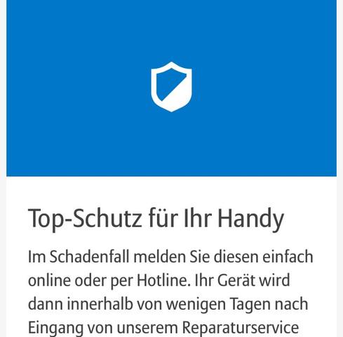 Handy Versicherung - (Internet, Handy, Technik)